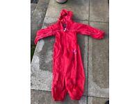 Regatta rain suit in size 3-4