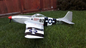 Great Planes .46 size P51 Mustang for sale.