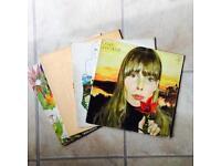 4 Joni Mitchell LPs