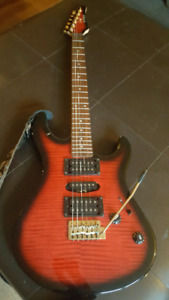 Yamaha electric guitar.