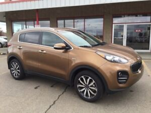 2017 Kia Sportage EX Accident Free,  Heated Seats,  Back-up Cam,