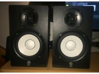 Yamaha HS50 Studio Monitors, Excellent Condition, Hardly Used