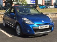 2010 RENAULT CLIO 1.2 DYNAMIQUE 3 DOOR * LONG MOT * CHEAP INSURANCE * PX WELCOME * DELIVERY *