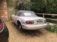 Mazda MX5 MK1 NA Eunos Stone Silver Breaking for Spares All Parts Available