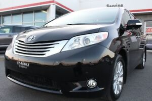 2014 Toyota Sienna LIMITED AWD CUIR GPS BLUETOOTH TOIT OUVRANT P