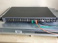 Netgear GS748Tv5 ProSafe 48-port Gigabit Ethernet Smart Managed Switch