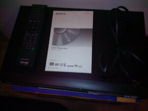 Sony PVR with Hard Drive & DVD Burner - Transfer VHS to DVD