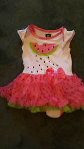 Fun watermelon party dress
