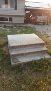 Concrete stairs for free