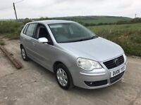 VOLKSWAGEN POLO S 55 1.2 5DR SILVER 2006