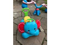 Fisher price elephant ride on