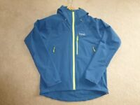 Brand New Rab Sawtooth Hoodie. Size is Large. Colour in Ink. RRP is £125