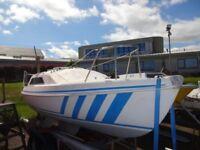 19ft Sailing Yacht, Bilge Keel Hunter Europa