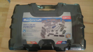 Mastercraft 128pc socket set