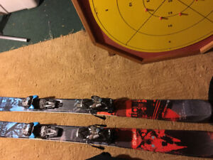 Twin tip skis 148cm Nordica