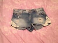 New size 8 shorts