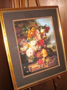 Stately Garden Framed Print