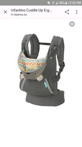 Infantino cuddle up hooded carrier