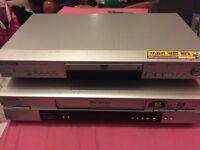 Panasonic video and DVD players