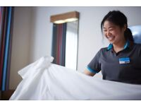 Room Cleaners (Full-time & Part-time) - Immediate Start.