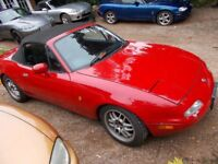 Mazda Mx5 mx-5 mx 5.... Mk1 mk2 mk2.5. Consider anything provided it moves/drives. NOT for breaking.