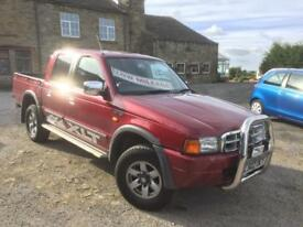 2002 FORD RANGER XLT DOUBLE CAB PICKUP only 79k miles