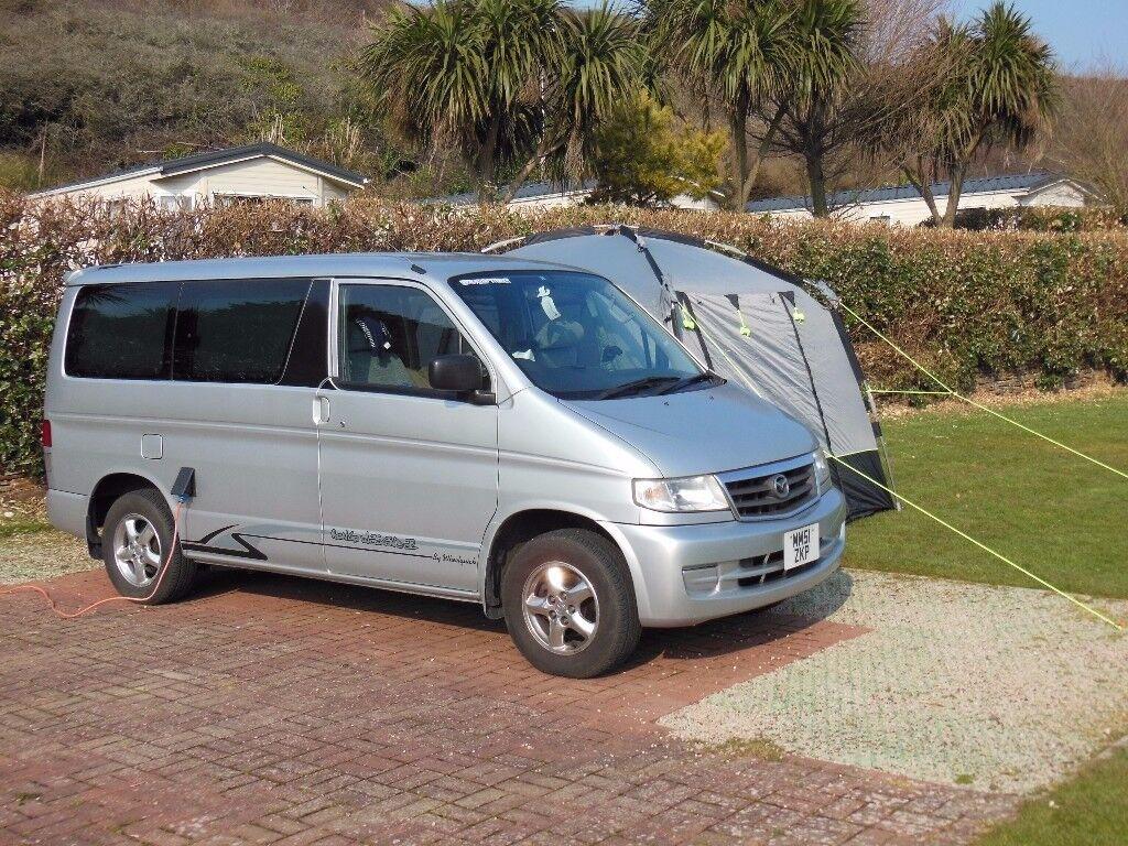 mazda bongo camper van for sale in aldershot hampshire. Black Bedroom Furniture Sets. Home Design Ideas