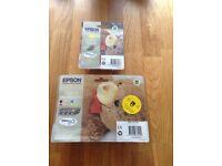 Epson Stylus D68/D88 series (Teddy Bear) cartridges Multi pack plus yellow