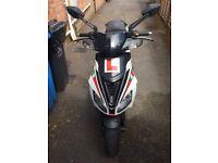 Aprilia sr 50cc moped 2014