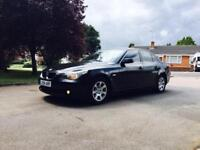 BMW 525D/DIESEL/AUTOMATIC/SAT NAVIGATION/EXCELLENT CAR/FULL LEATHER/CLEAN/START DRIVES VERY GOOD