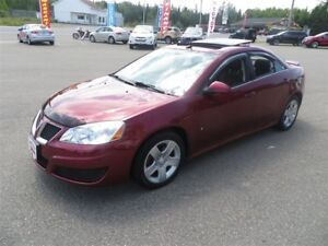 2009 Pontiac G6 SE, SUNROOF, LOCAL TRADE!