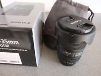 Selling Canon EF 16-35mm f/4L IS USM Lens