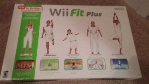 Brand New Wii Fit Plus (game & board)