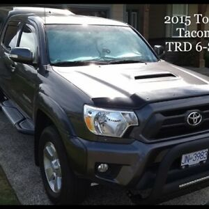 2015 Toyota TRD 6-SPD, 35000kms, $39,500 or trade for Campervan