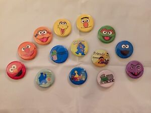Set of 14 Sesame Street fridge Magnets