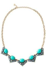 Stella and Dot Rory Necklace - Blue