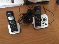 Talk talk answer machine plus 2nd telephone.