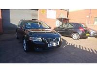 2008 / 58 Volvo V50 2.0D SE SPORTSWAGON Full MOT+Warranty+Auto+Estate