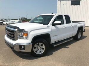 2014 GMC Sierra 1500 SLE-PST PAID-4X4-DOUBLE CAB