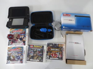 Nintendo 3DS XL - with 3 games