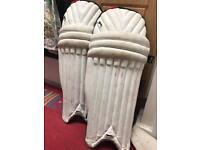 Slazenger cricket batting pads