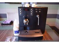 JURA X7 bean to cup coffee machine + Milk Fridge BLACK