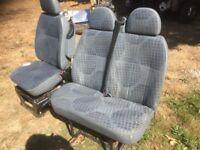 Ford transit seats 2001-2014 drivers seat + passenger seat