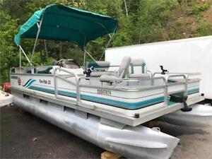 ***SOLD SOLD SOLD*** 20' SUN TRACKER FUN FISH PONTOON 40HP
