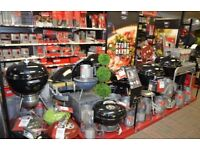 NEW Weber BBQ's various sizes and types listed in ad *gas + charcoal*