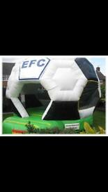 Efc lfc mufc football bouncy castles 12x12 with blowers £600 each