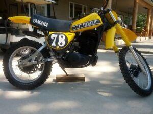 1978 YAMAHA YZ400E