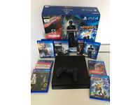 PlayStation 4 1TB Slim 4 month old