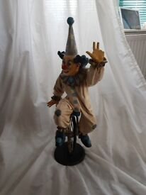Vintage clown signed and numbered.