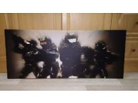 HALO Canvas Wall Print - Large